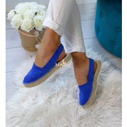Kék espadrilles