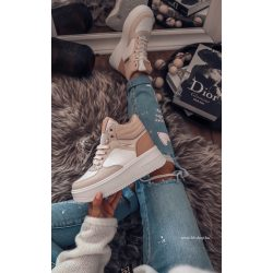 Fehér - drapp cipő