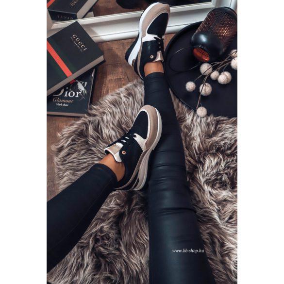 Fekete - fehér cipő