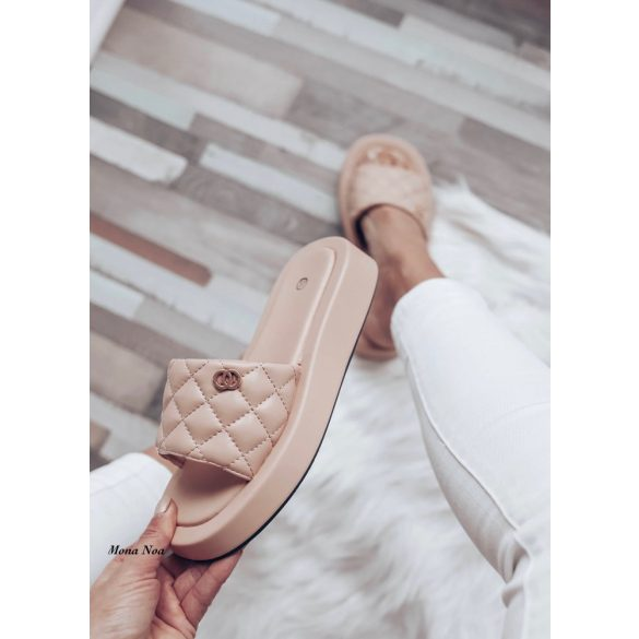 Nude papucs